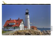 Portland Head Light Carry-all Pouch by Joann Vitali