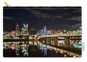 Portland Oregon At Night Carry-all Pouch