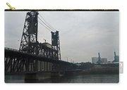 Portland Oregon Steel Bridge Carry-all Pouch