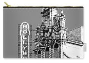 Portland Skyline Hollywood Theater - Pewter Carry-all Pouch