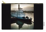 Portland Steam Sternwheeler  Tugboat Carry-all Pouch