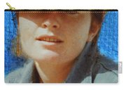 Portrait From The Middle Eightieth Carry-all Pouch