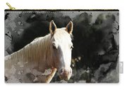 Portrait In Watercolor -  Featured In Spectacular Artworks Of Faa Carry-all Pouch