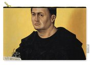 Portrait Of A Benedictine Abbot Carry-all Pouch