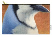 Portrait Of A Bluejay Carry-all Pouch