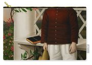 Portrait Of A Boy Carry-all Pouch by James B Read