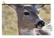Portrait Of A Deer Carry-all Pouch