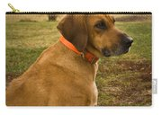 Portrait Of A Dog Carry-all Pouch