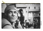 Portrait Of A Face In The Crowd Carry-all Pouch