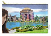 Portrait Of A Filipina Beauty Altered Version Carry-all Pouch