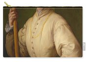 Portrait Of A Halberdier Carry-all Pouch