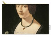 Portrait Of A Lady As Saint Lucy Carry-all Pouch