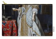 Portrait Of A Lady Carry-all Pouch by Gabriel Metsu