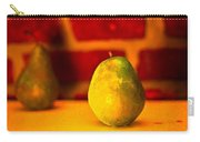 Portrait Of A Pear Carry-all Pouch