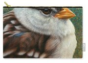 Portrait Of A Sparrow Carry-all Pouch