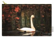 Portrait Of A Swan Carry-all Pouch