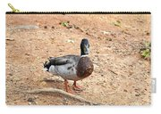 Portrait Of An Alabama Duck 2 Carry-all Pouch