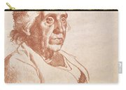 Portrait Of An Old Lady, 1938 Carry-all Pouch