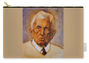 Portrait Of An Older Man Carry-all Pouch