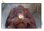 Portrait Of An Orangutan Carry-all Pouch