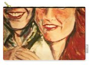 Portrait Of Andrew And Sarah Carry-all Pouch
