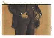 Portrait Of Arcadi Mas I Fondevila Carry-all Pouch