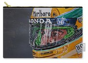 Portrait Of Ayrton Senna Carry-all Pouch