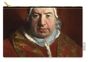 Portrait Of Benedict Xiv Carry-all Pouch