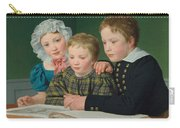 Portrait Of C F Holms Children Carry-all Pouch
