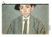Portrait Of Charles Dikran Kelekian Carry-all Pouch