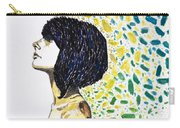 Portrait Of Cindy Clark Carry-all Pouch