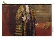 Portrait Of Colonel Sir Samuel Wilson, Lord Mayor Of London, 1838 Oil On Canvas Carry-all Pouch