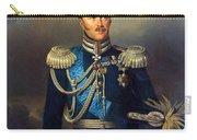 Portrait Of Count Alexander Benkendorff Carry-all Pouch
