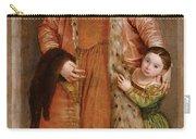 Portrait Of Countess Livia Da Porto Thiene And Her Daughter Deidamia Carry-all Pouch