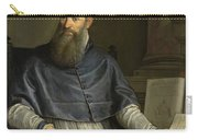 Portrait Of Daniele Barbaro Carry-all Pouch