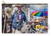 Portrait Of Doctor Luv In New Orleans Carry-all Pouch