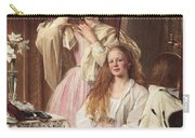 Portrait Of Emma And Frederica Bankes Carry-all Pouch