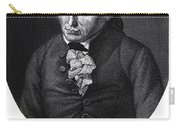 Portrait Of Emmanuel Kant  Carry-all Pouch by German School