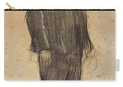 Portrait Of Enric Morera Carry-all Pouch