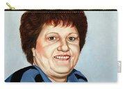 Portrait Of Essie Simon  Carry-all Pouch