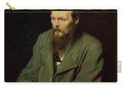 Portrait Of Fyodor Dostoyevsky Carry-all Pouch