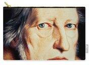 Portrait Of Georg Wilhelm Friedrich Hegel Carry-all Pouch