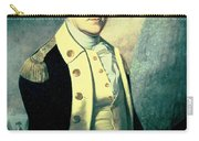 Portrait Of George Washington Carry-all Pouch by James the Elder Peale