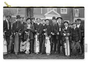 Portrait Of Golf Caddies Carry-all Pouch