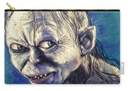 Portrait Of Gollum Carry-all Pouch