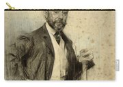 Portrait Of Gonzalo Bilbao Carry-all Pouch