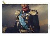 Portrait Of Illarion Vasilyevich Vasilchikov Carry-all Pouch