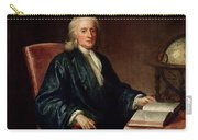 Portrait Of Isaac Newton Carry-all Pouch
