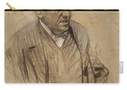 Portrait Of Iscle Soler Carry-all Pouch