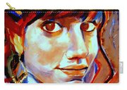 Portrait Of Ivana Carry-all Pouch